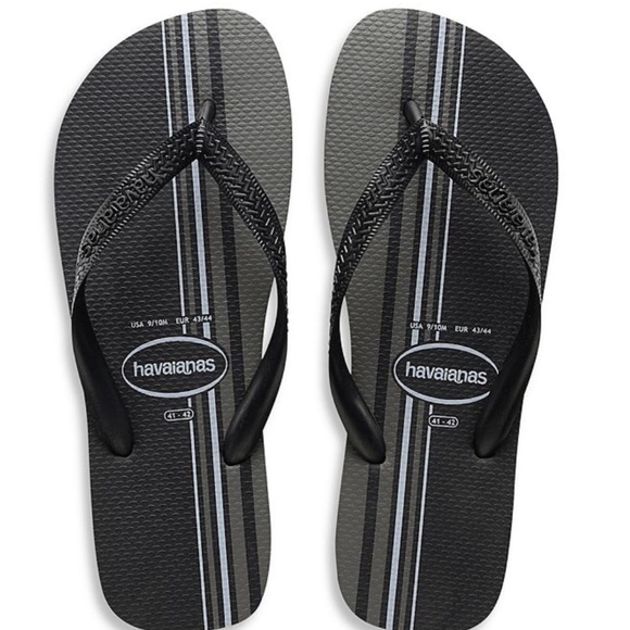 ecad6a280624 Havaianas Top Basic Men s Sandal in Black 11-12 M. NWT